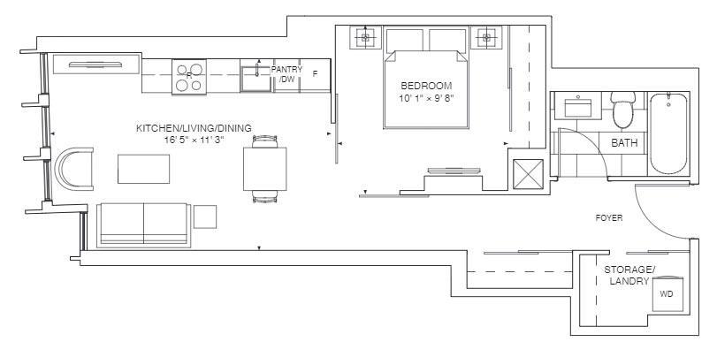Gladiolus Floorplan 1