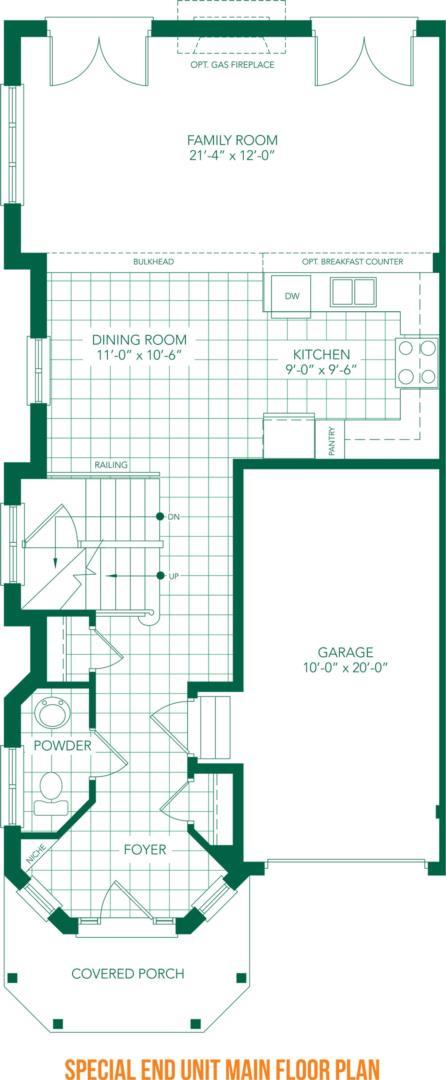 The Villa Floorplan 3