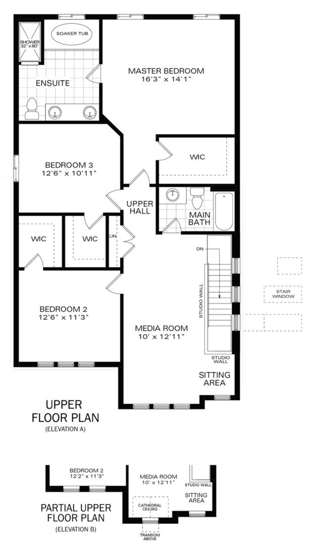 The Rockwell IV A Floorplan 2
