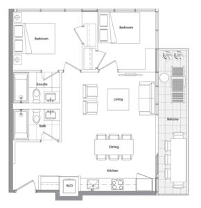 Upper (East Tower) 02 Floorplan 1