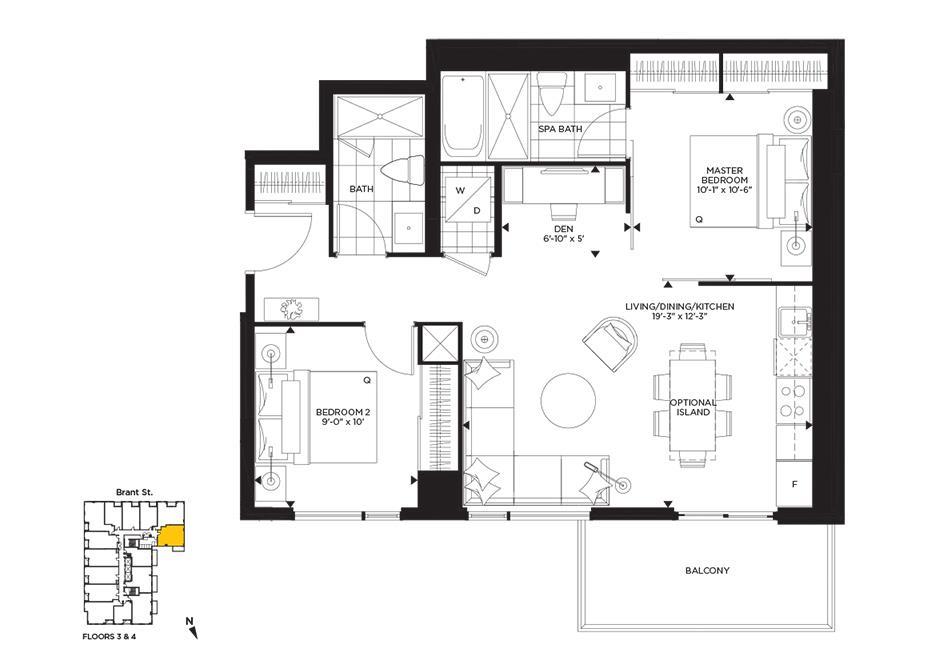 Pastel Floorplan 1