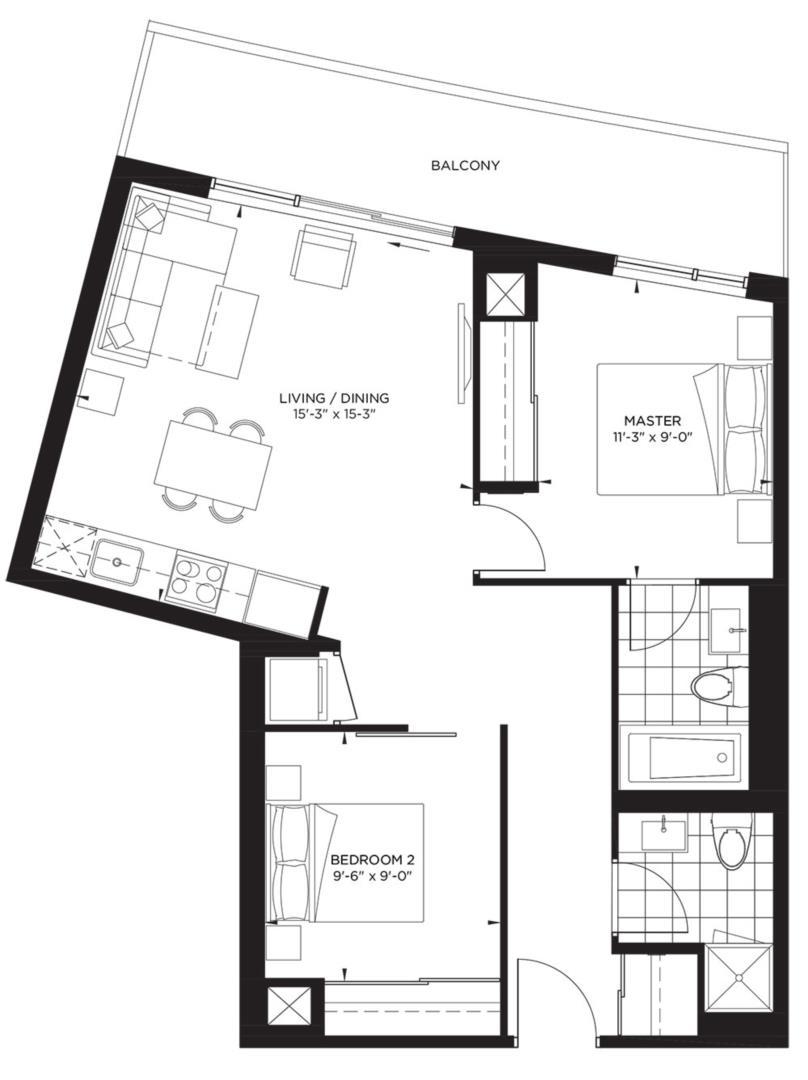 Garden Collection - Valentino Floorplan 1