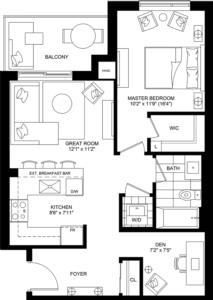 Hush Floorplan 1