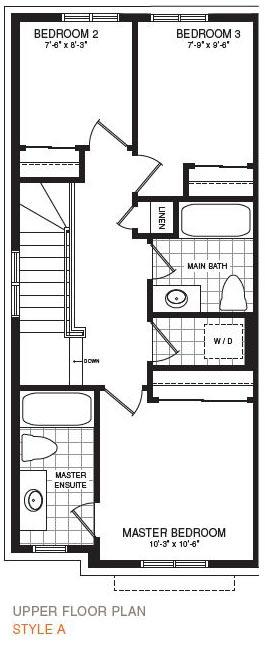 The Breton End Floorplan 3