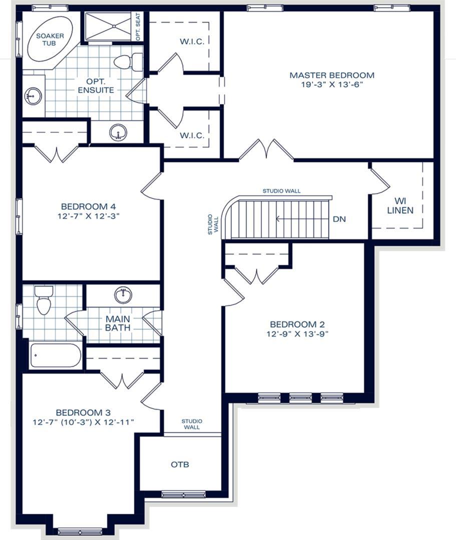 The Belmont B Floorplan 2