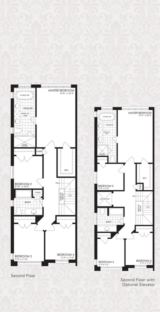 The Oxford Collection - The Oxford 3 Floorplan 2