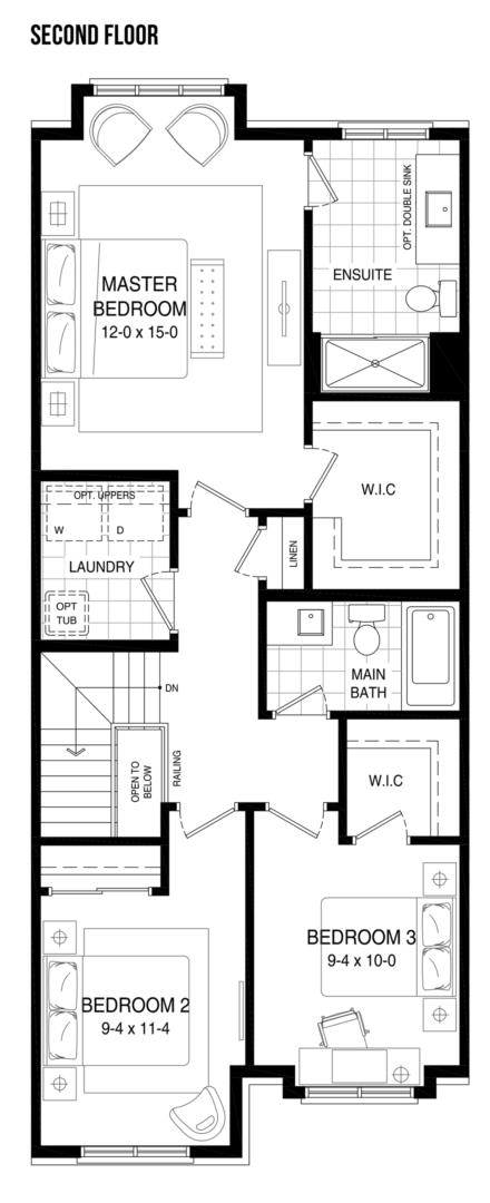 The Escape Floorplan 3