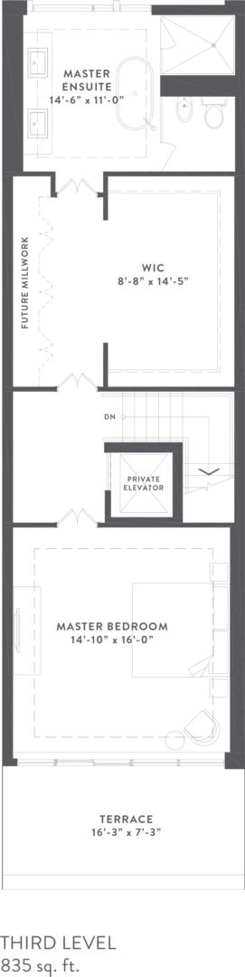 Townhome Collection C Floorplan 4