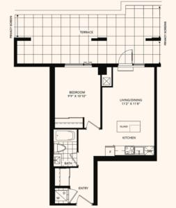 The Brickstone Floorplan 1