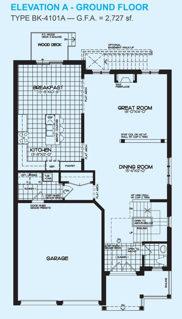 Blue Ash A Floorplan 1