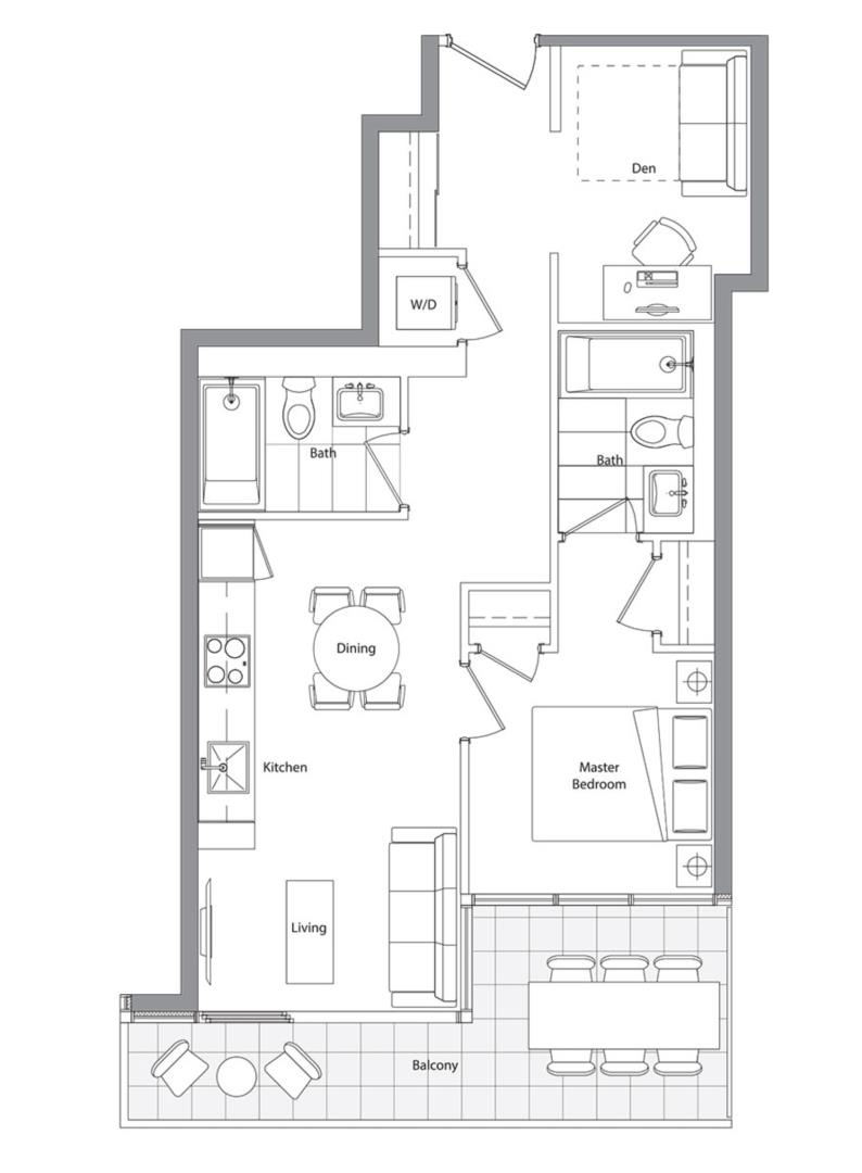 Lower Typical (East Tower) 09 Floorplan 1
