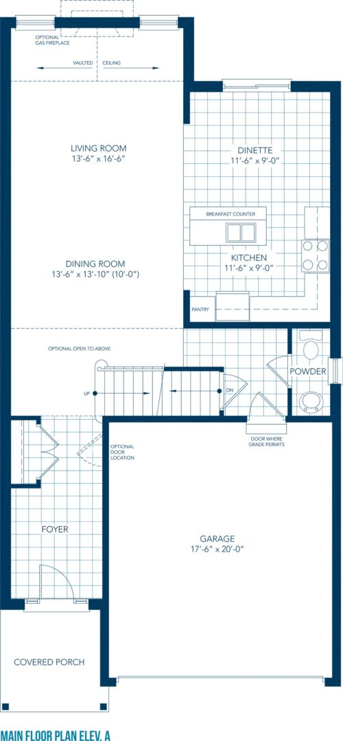 Vista Floorplan 1
