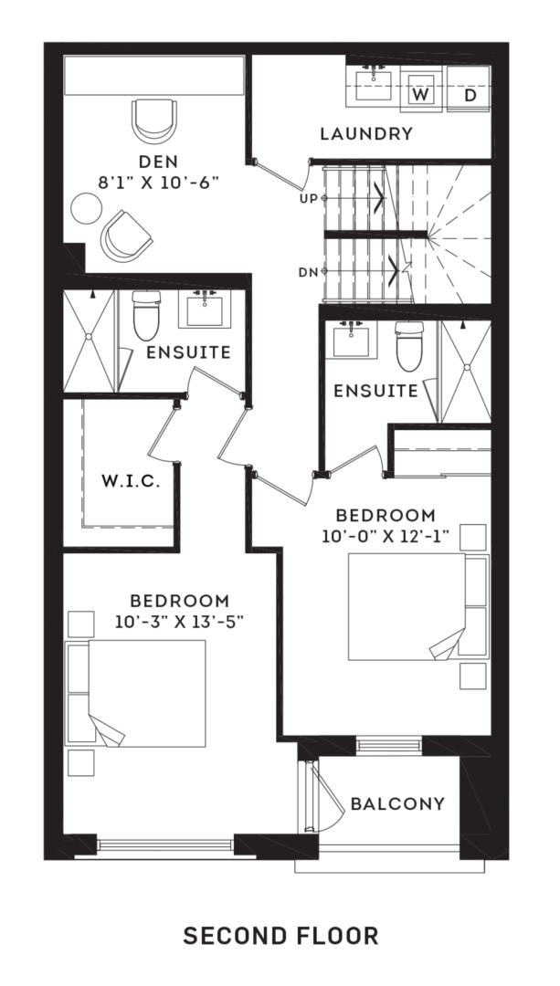 The Brentcliff Floorplan 2