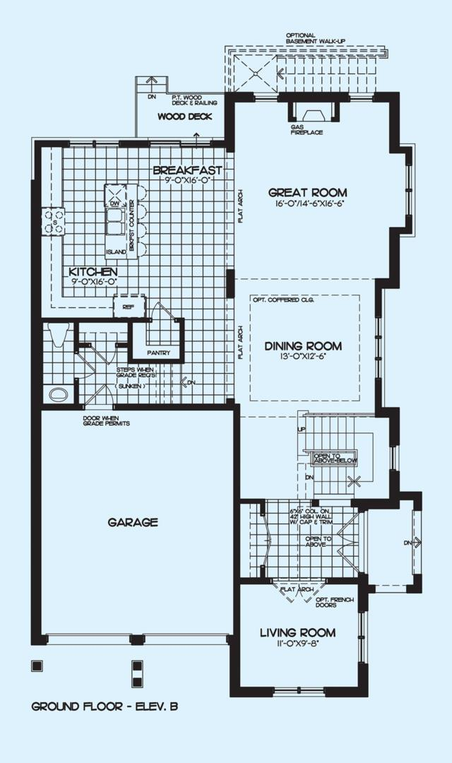 Silver Maple B Floorplan 1