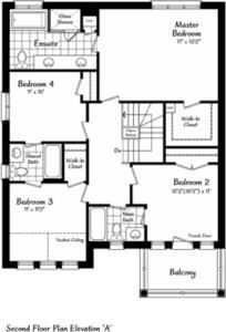 The Windermere 5 Floorplan 2
