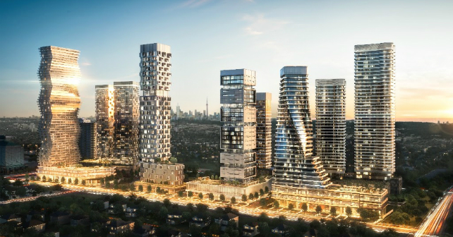 Rogers Real Estate Development Limited unveils 10 towers for downtown Mississauga Image