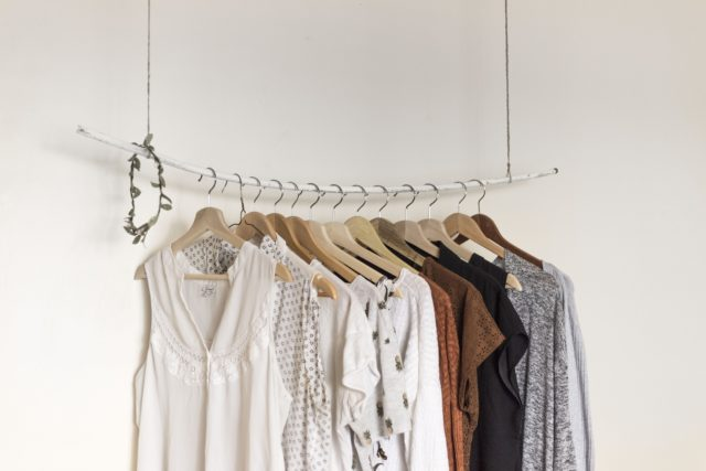 Every millennial needs matching hangers in their bedroom