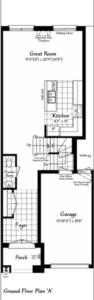 The Belevedere 5 Floorplan 1
