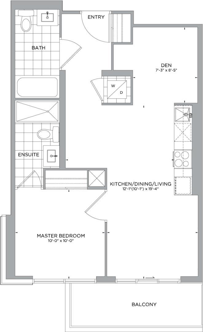 B-648 Floorplan 1