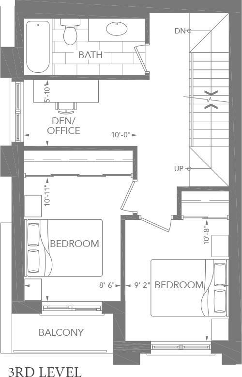 3B-E Floorplan 3