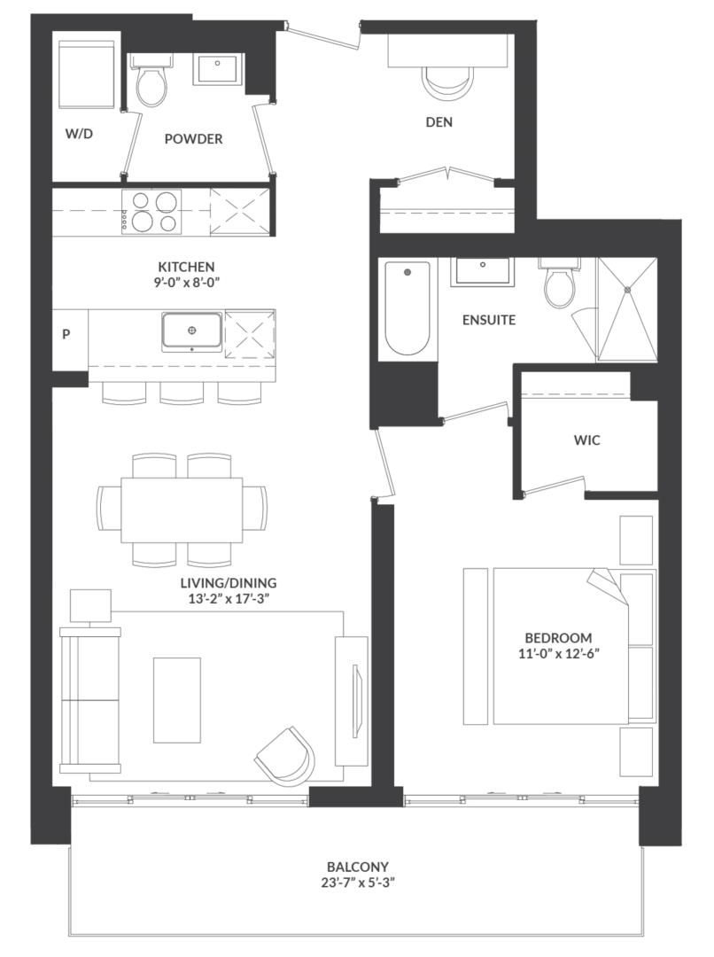 Suite 03 Floorplan 1