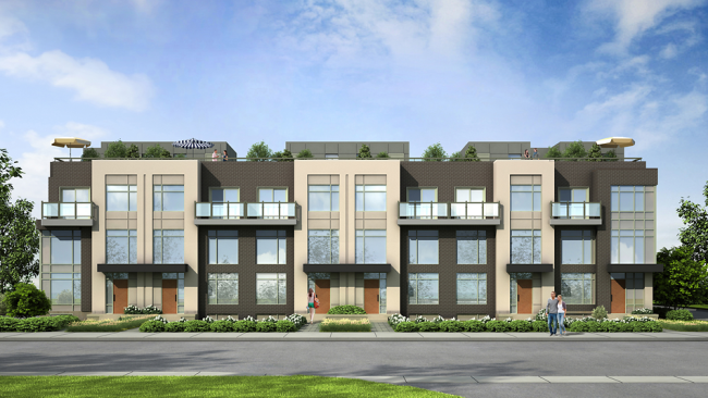 DWELL City Towns: Surrounded by Etobicoke's Best! Image