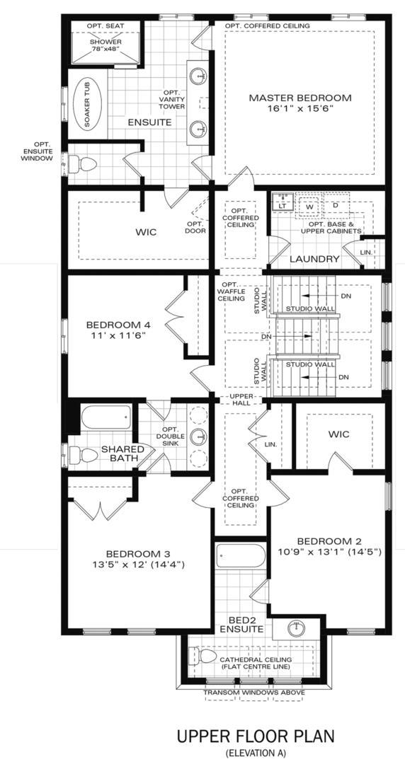 The Vega A Floorplan 2