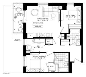 2D-1012 Floorplan 1
