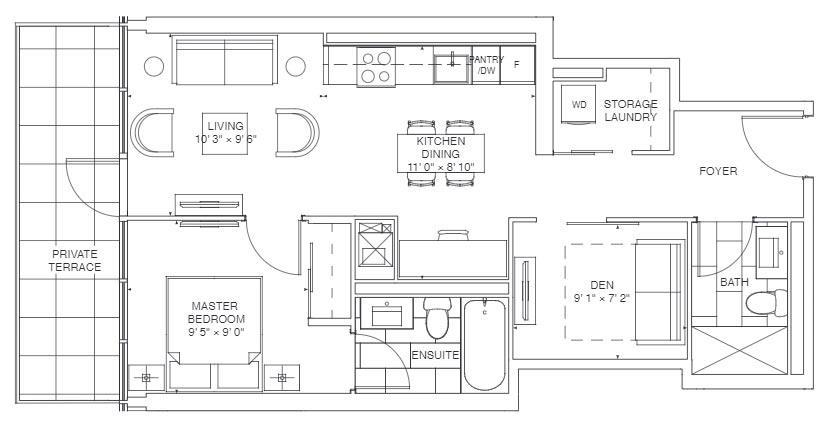 Primrose Floorplan 1
