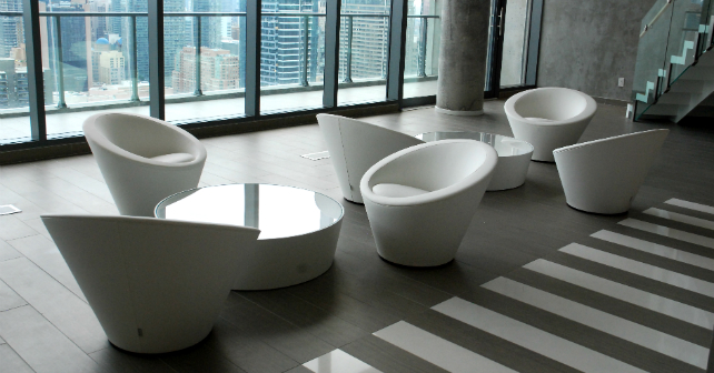 Touring the amazing amenities at Chaz.Yorkville in Toronto! Image