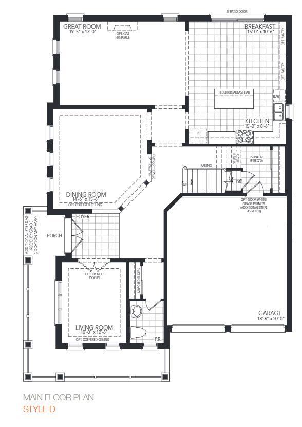 The Wedgewood Corner Floorplan 1
