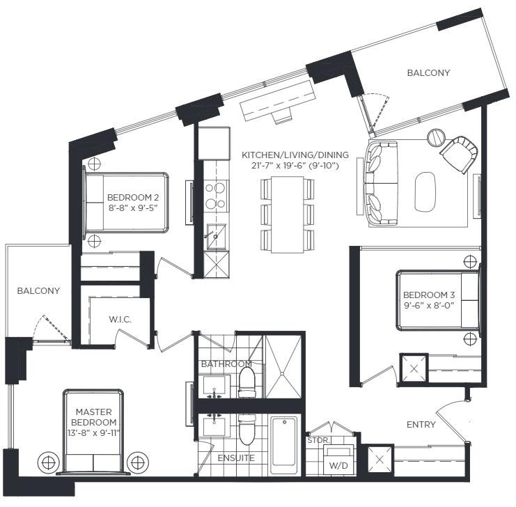 Codrington Floorplan 1