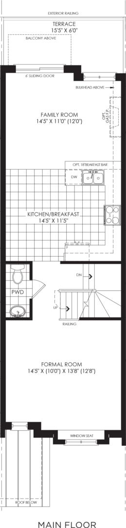 BLOCK 19, ELEV. A3 REV, UNIT 2 Floorplan 2