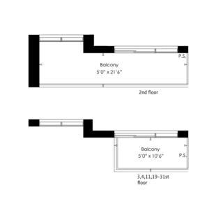1D+D Floorplan 2