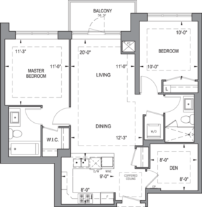Building B - Typical Suites - 2B+D
