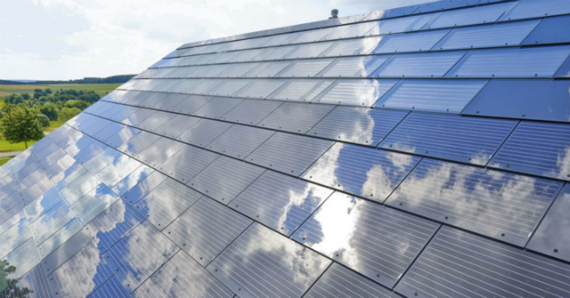 When will all new homes be powered by solar shingles? Image
