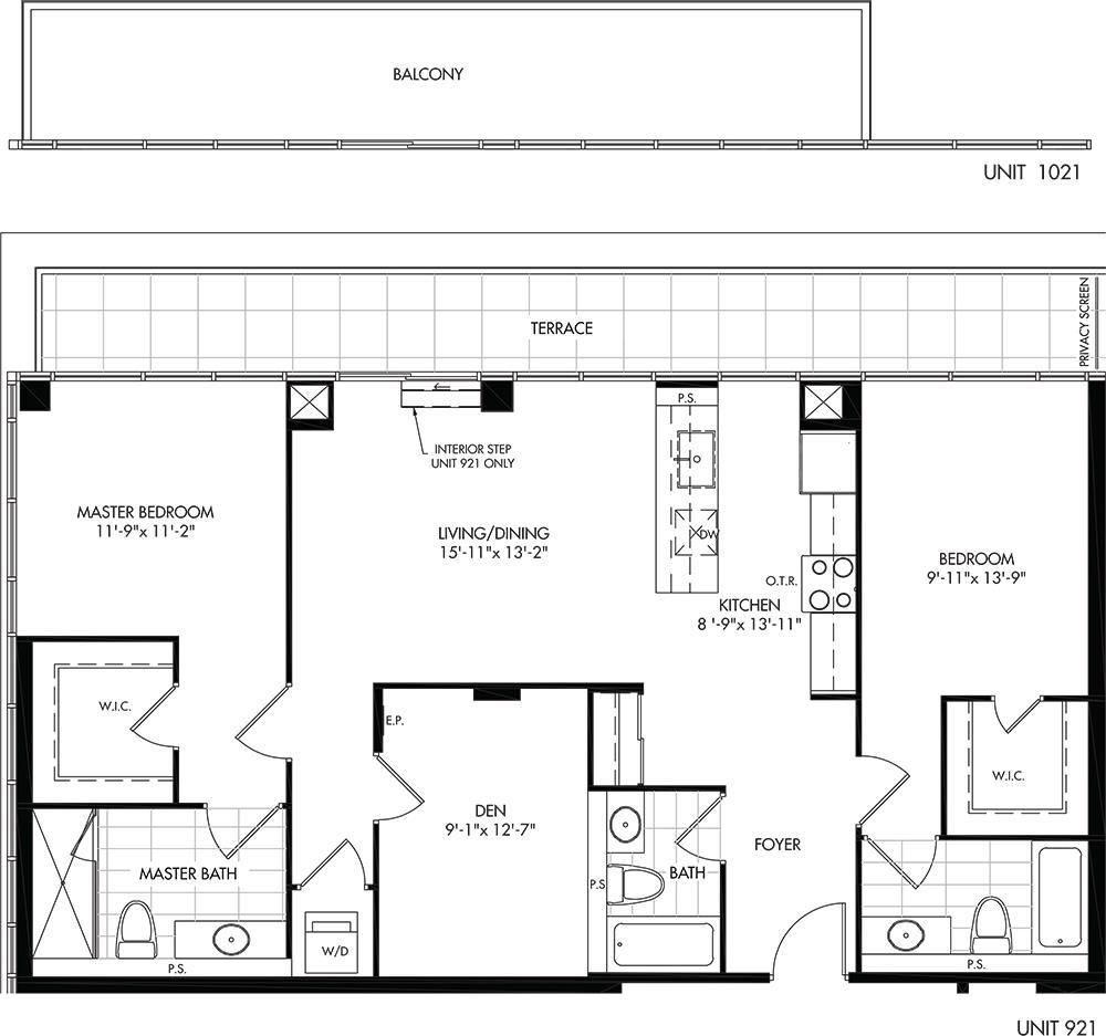 G (BF) Floorplan 1