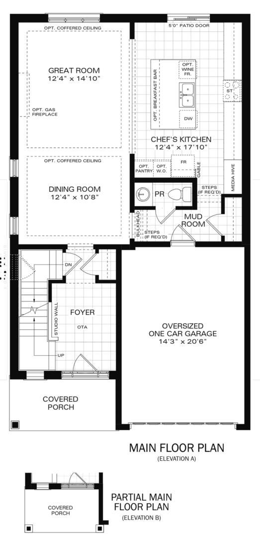 The Oxford IV A Floorplan 1