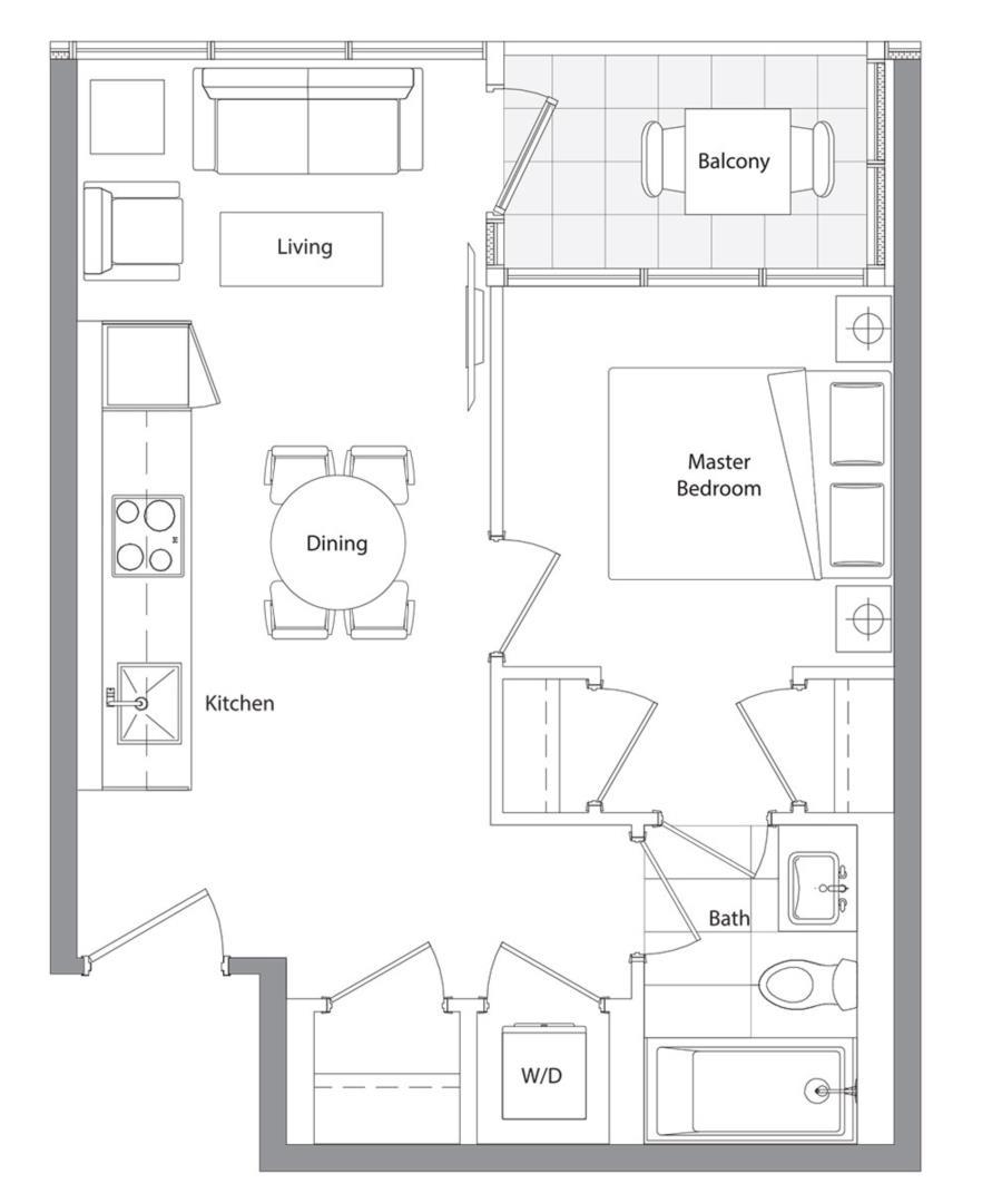 Lower Typical (East Tower) 02 Floorplan 1