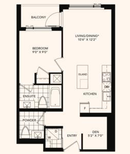 The Markwood Floorplan 1