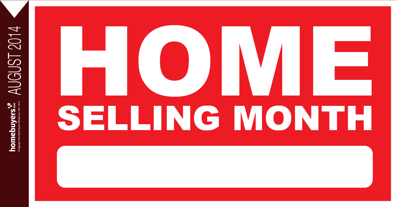 August: Home Selling Month Image