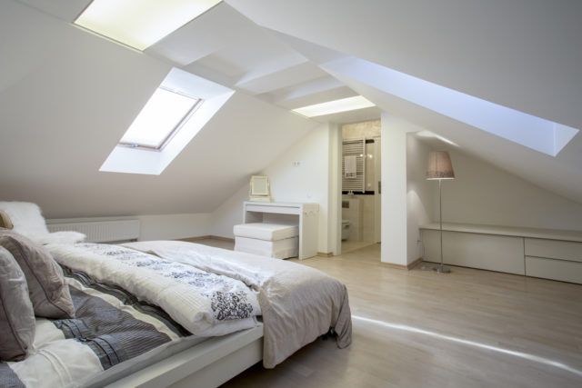 Convert your attic/basement to a bedroom