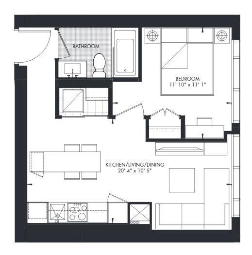 Yorkville 7 Floorplan 1