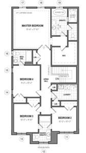 The Hampton 34 IV B Floorplan 2