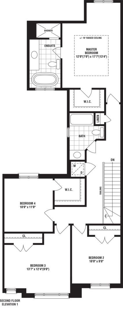Redfinch 1 Floorplan 2