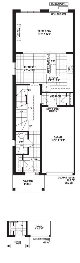 Turquoise Corner Unit Floorplan 1