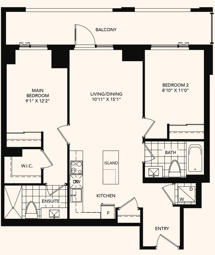 The Abbeywood Floorplan 1