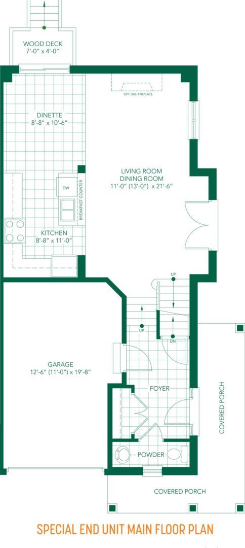 The Parkview Floorplan 4
