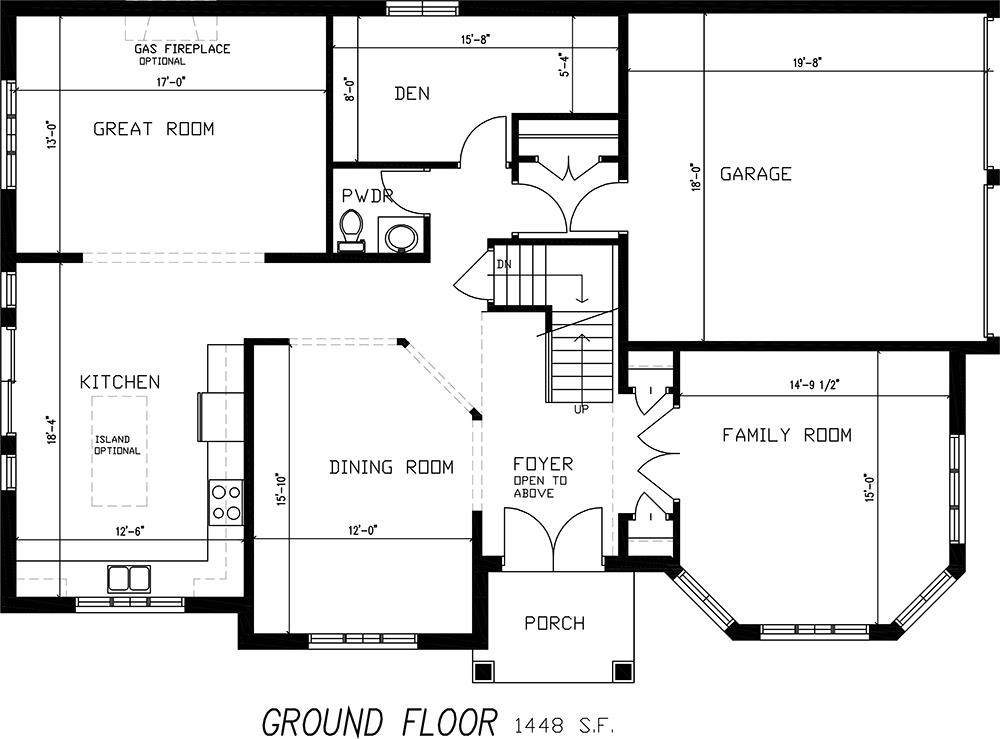 The Mosaic Floorplan 1