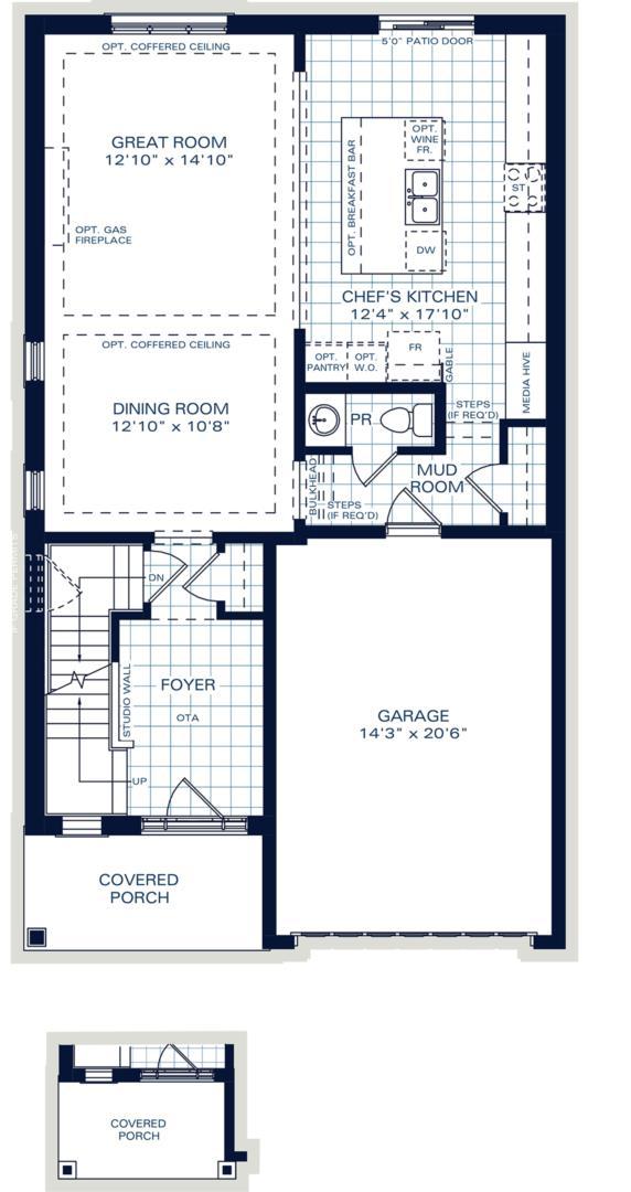 The Oxford A Floorplan 1